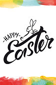 istock Happy easter greeting card 926131622