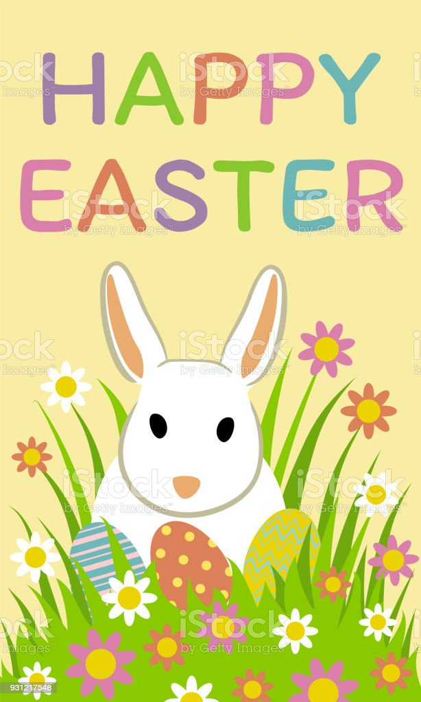 Happy easter greeting card stock vector art more images of happy easter greeting card royalty free happy easter greeting card stock vector art amp m4hsunfo