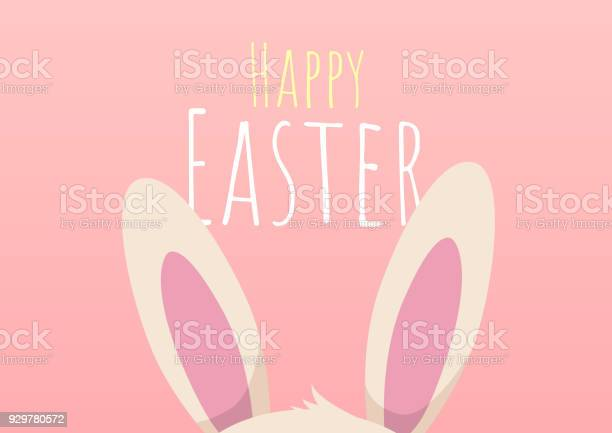 Happy easter greeting card with easter bunny vector id929780572?b=1&k=6&m=929780572&s=612x612&h=erneabua7rcvgevgzzdcw77ij2tmqptyk5lx0gttkv4=
