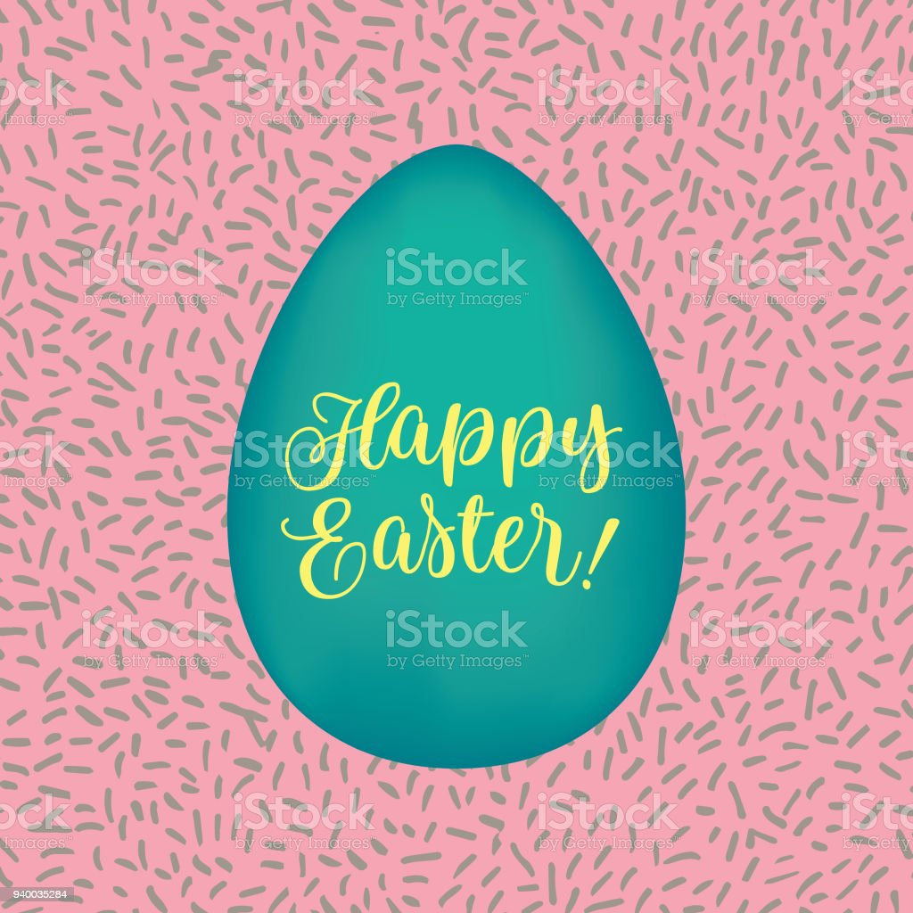 Happy easter greetings vector card stock vector art more images of happy easter greetings vector card royalty free happy easter greetings vector card stock vector art m4hsunfo