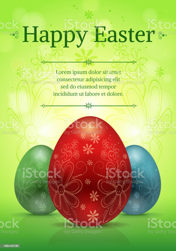 Happy Easter royalty-free happy easter stock vector art & more images of animal egg