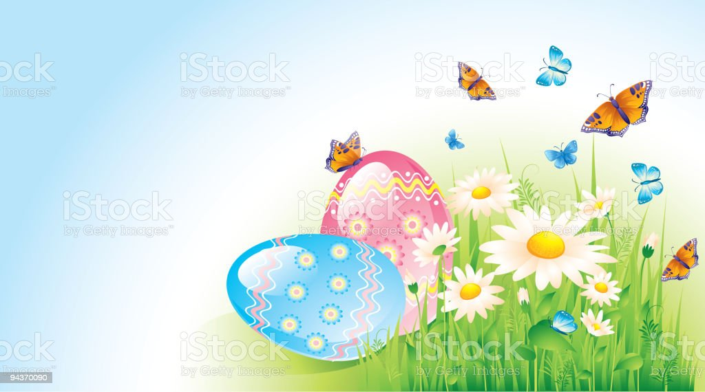 Happy Easter royalty-free happy easter stock vector art & more images of abstract