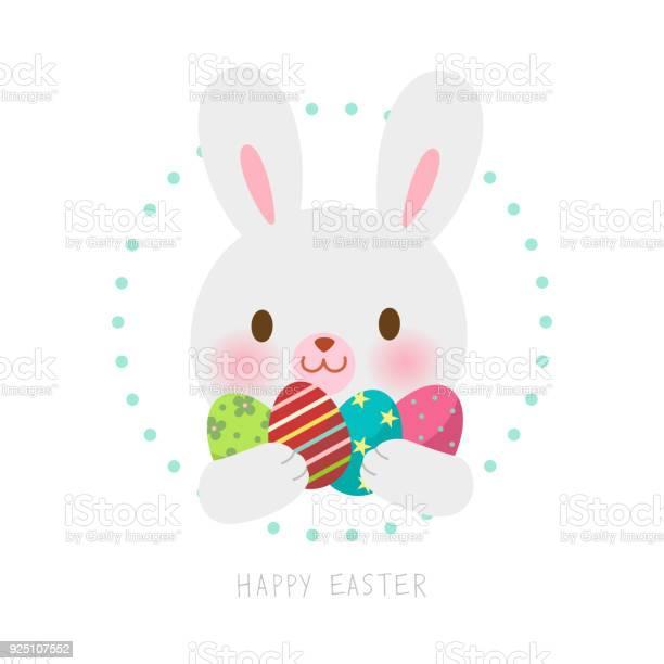 Happy eastercute easter bunny with easter eggs vector id925107552?b=1&k=6&m=925107552&s=612x612&h=8znd45tigib5ntm pvsg9zjl dkmjhf9uhxrinzm2oc=