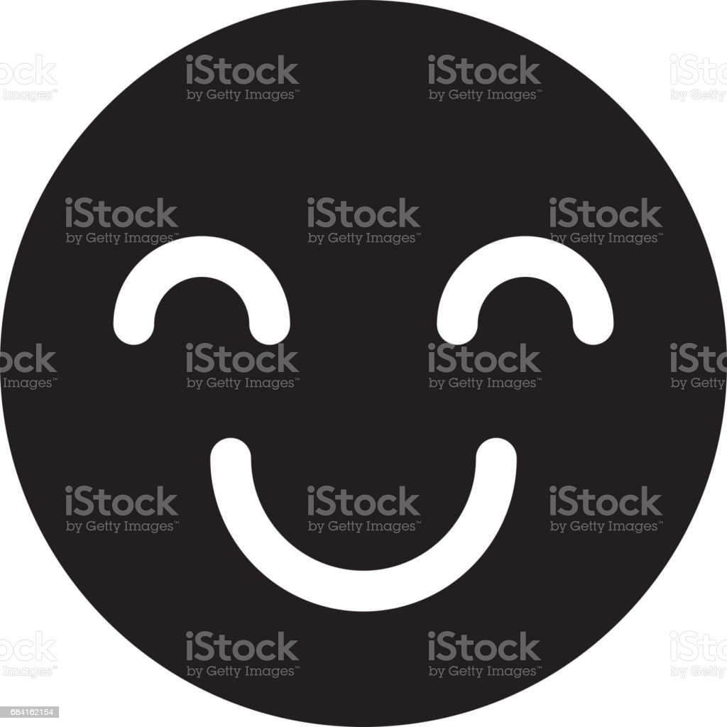 happy face isolated icon royalty-free happy face isolated icon stock vector art & more images of cartoon