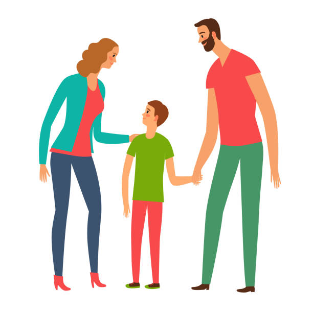 765 Parent And Teenager Talking Illustrations Royalty Free Vector Graphics Clip Art Istock