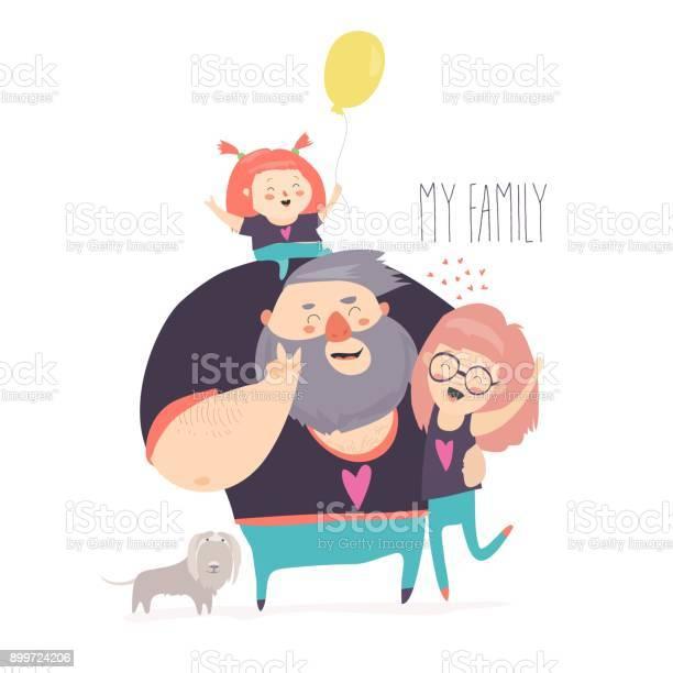 Happy family portrait vector id899724206?b=1&k=6&m=899724206&s=612x612&h=ft4hzle9hoygdyqfmwys9yxcacswvb5d pyomyefj44=