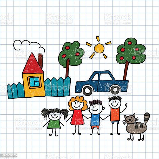 Happy family with house and car vector id495959870?b=1&k=6&m=495959870&s=612x612&h=zyyiqxoch9aiqgusvp 4fvpfs4rciya0ycxeliqbacs=