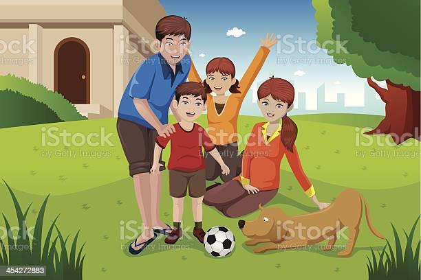 Happy family with pets vector id454272883?b=1&k=6&m=454272883&s=612x612&h=holqgrfiladvt1hlplqnmr24ez8 9r unw1wlteuylk=