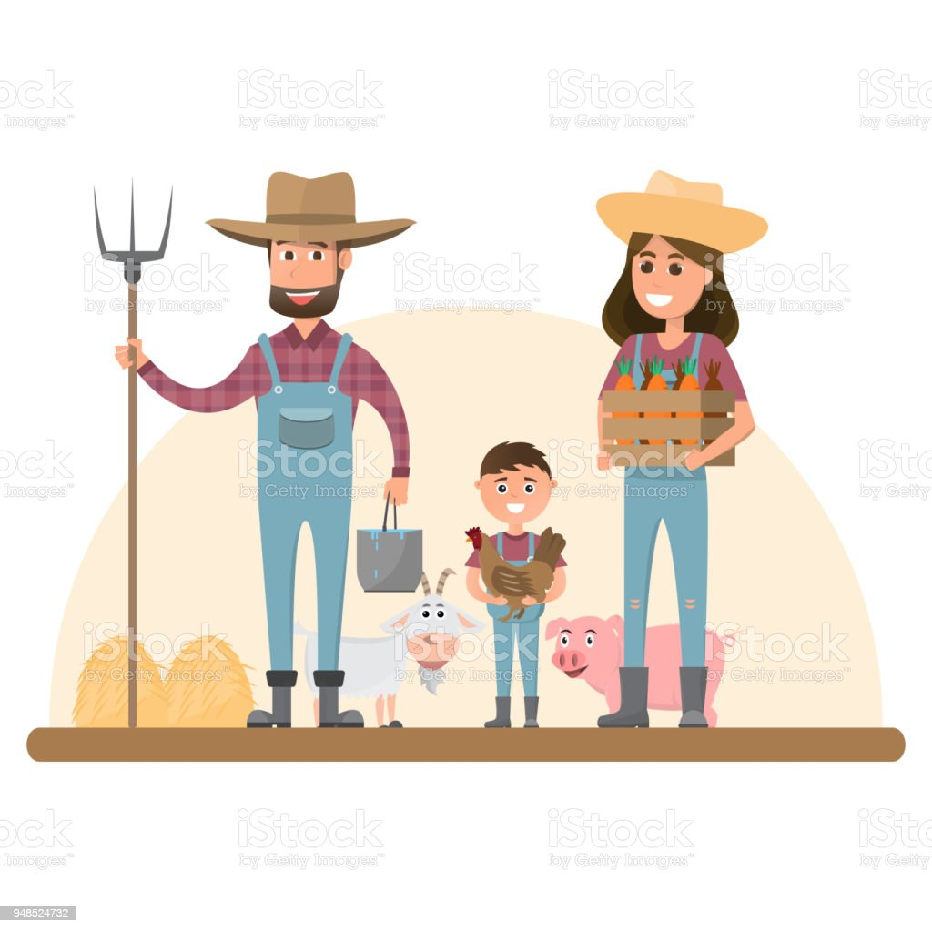 Happy Farmer Pig Royalty Free Cliparts, Vectors, And Stock Illustration.  Image 26584000.