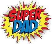 Happy Father Day Super Hero
