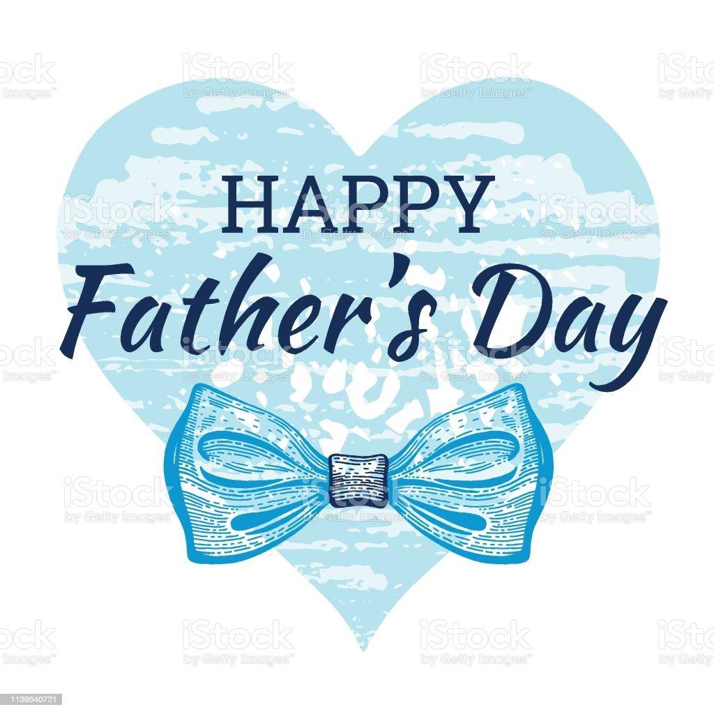 Carte De Jour Joyeux Père S Affiche Mignonne Avec Cravate