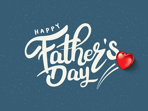 Happy Father's Day Calligraphy