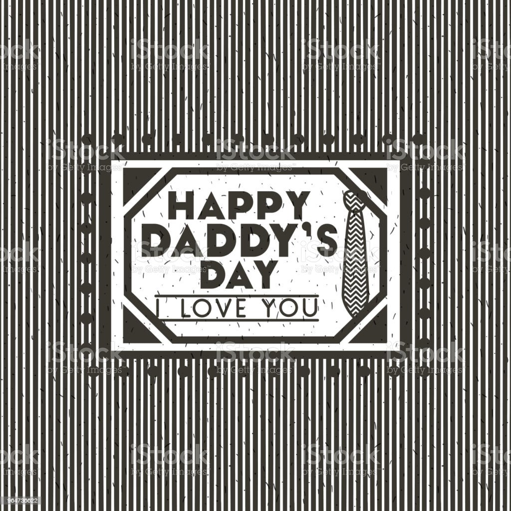 happy fathers day card stamp royalty-free happy fathers day card stamp stock vector art & more images of banner - sign