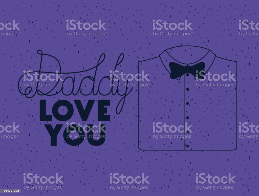 happy fathers day card with elegant shirt and bowtie royalty-free happy fathers day card with elegant shirt and bowtie stock vector art & more images of banner - sign