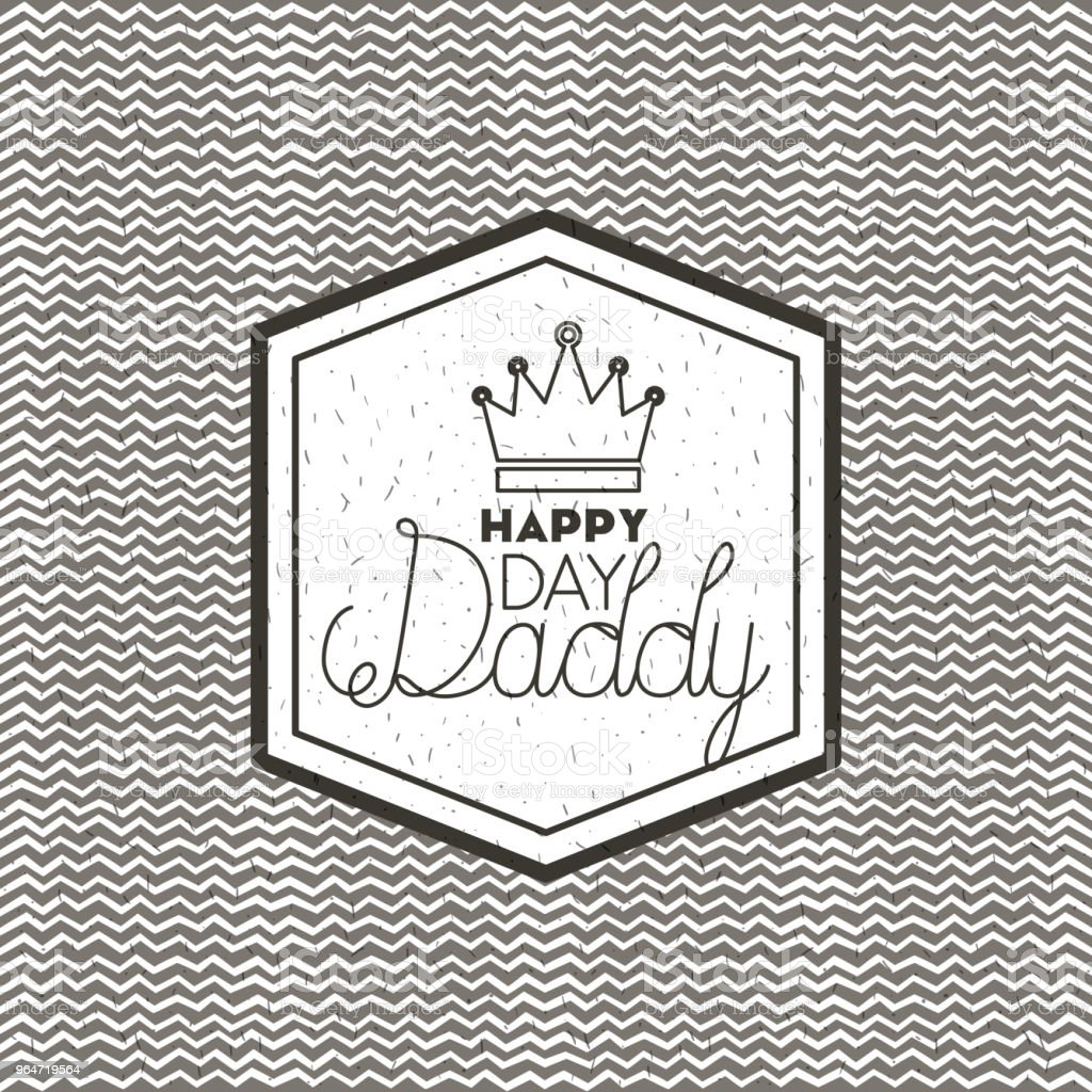 happy fathers day card with king crown royalty-free happy fathers day card with king crown stock vector art & more images of banner - sign