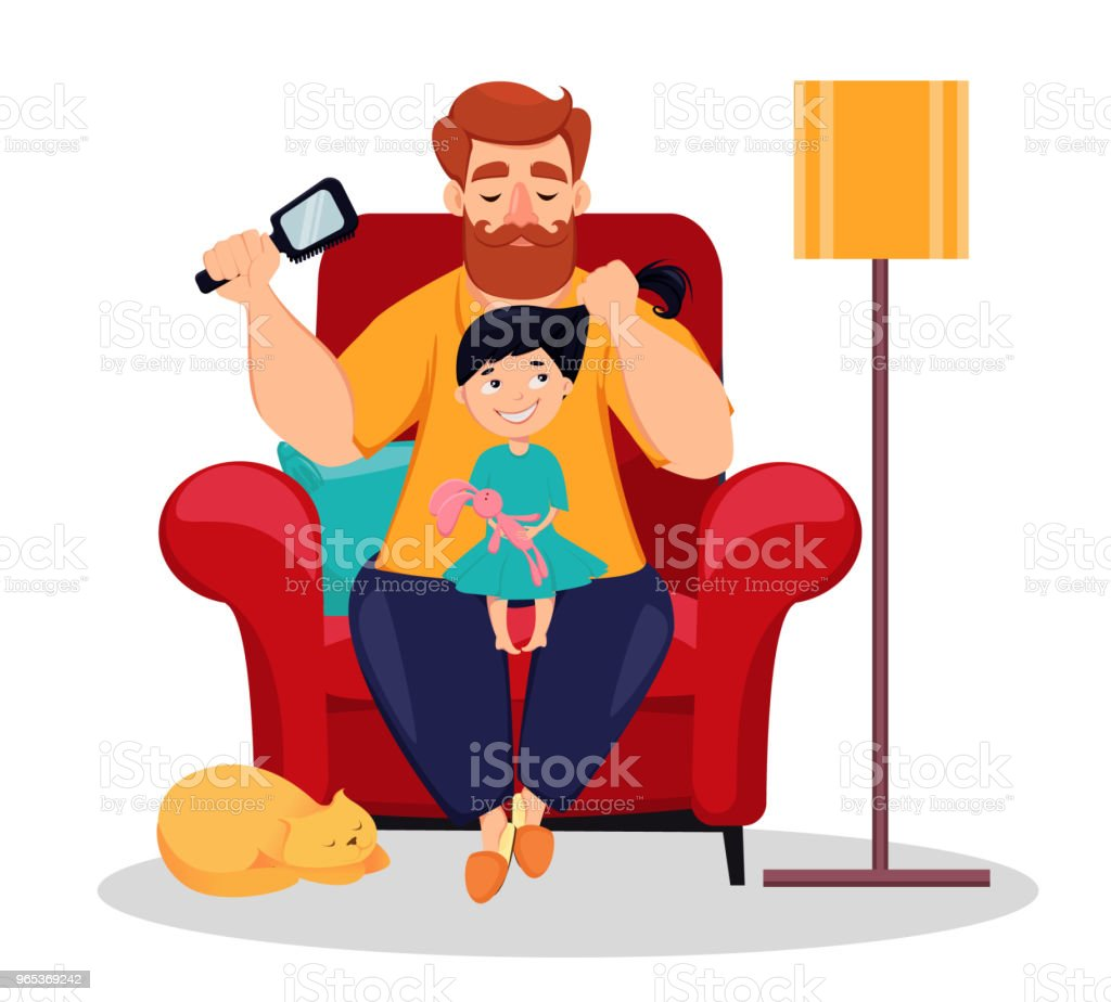 Happy Fathers Day greeting card royalty-free happy fathers day greeting card stock vector art & more images of adult