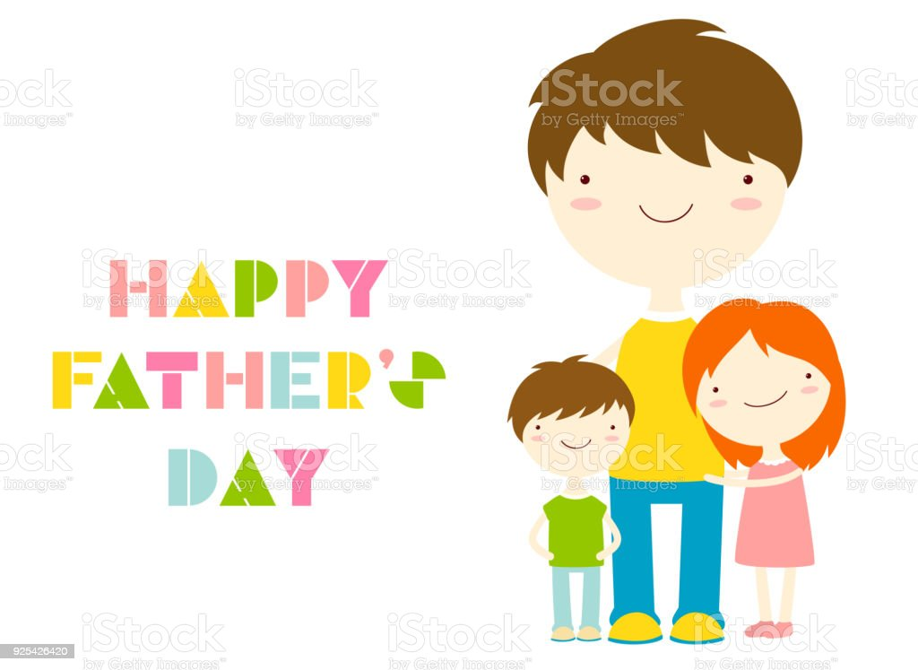 Happy fathers day greeting cards stock vector art more images of happy fathers day greeting cards royalty free happy fathers day greeting cards stock vector art m4hsunfo