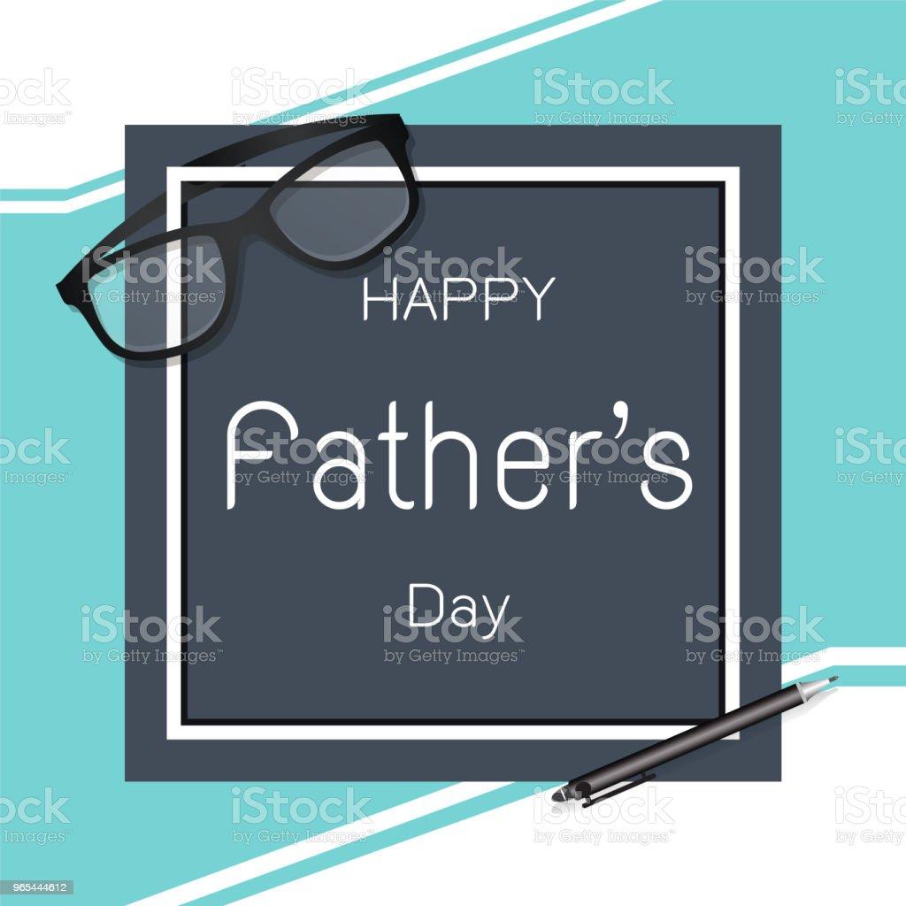 Happy Father's day greeting vector background happy fathers day greeting vector background - stockowe grafiki wektorowe i więcej obrazów archiwalny royalty-free