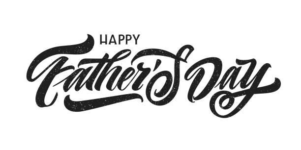ilustrações, clipart, desenhos animados e ícones de molde do dia de pai feliz - feliz dia dos pais