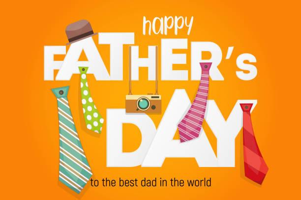 ilustrações, clipart, desenhos animados e ícones de dia de pai feliz - feliz dia dos pais