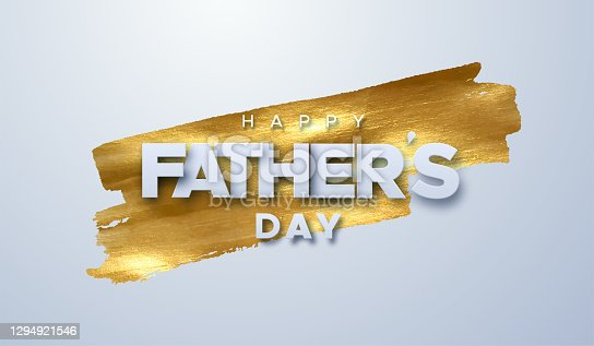 istock Happy Fathers Day. 1294921546