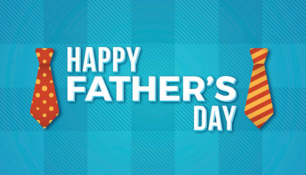 happy father's day - tie stock illustrations, clip art, cartoons, & icons
