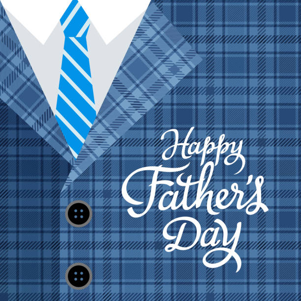 happy father's day - fathers day stock illustrations, clip art, cartoons, & icons