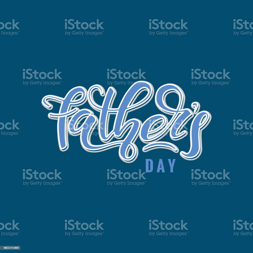 Happy Fathers Day Stock Vector Art More Images Of Art Istock
