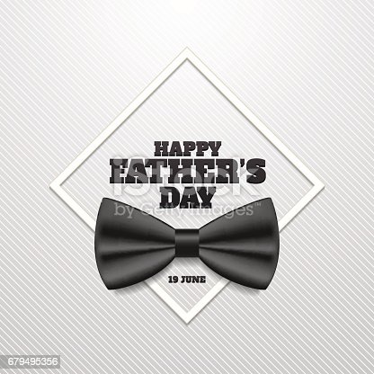 istock Happy father's day vector illustration. 19 June. 679495356