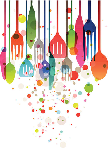 happy feast - nahrungsmittelindustrie stock-grafiken, -clipart, -cartoons und -symbole