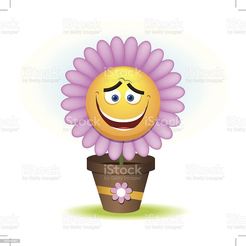 Happy floret. Vector illustration 10 eps royalty-free stock vector art