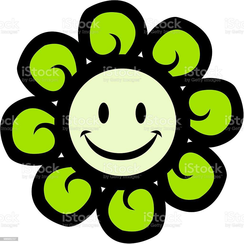 행복함 아이리스입니다 변모시키십시오 royalty-free 행복함 아이리스입니다 변모시키십시오 꽃 한송이에 대한 스톡 벡터 아트 및 기타 이미지