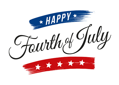 Happy Fourth of July - United Stated independence day greeting