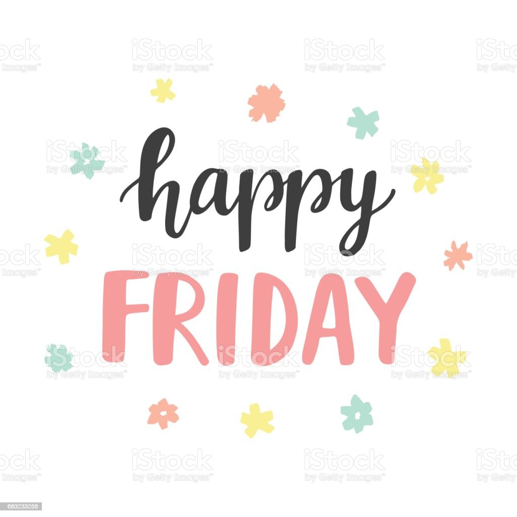 Happy Friday: Royalty Free Happy Friday Clip Art, Vector Images