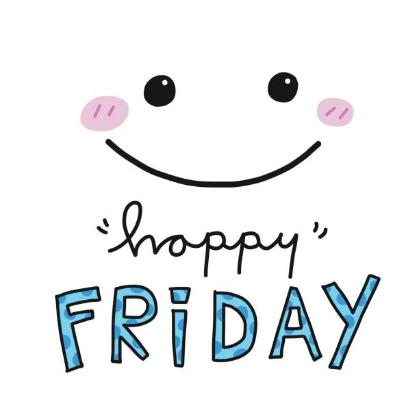 Royalty Free Happy Weekend Clip Art, Vector Images ...