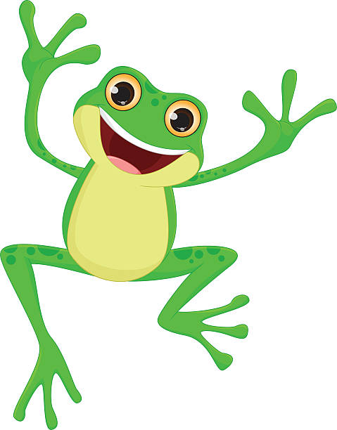 Best Jumping Frog Illustrations, Royalty-Free Vector ...
