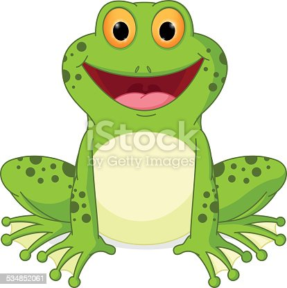 happy frog cartoon stock vector art   more images of 2015 bullfrog clipart black and white Toad Clip Art
