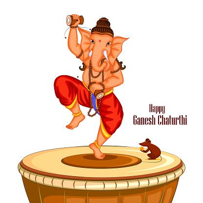 Happy Ganesh Chaturthi background