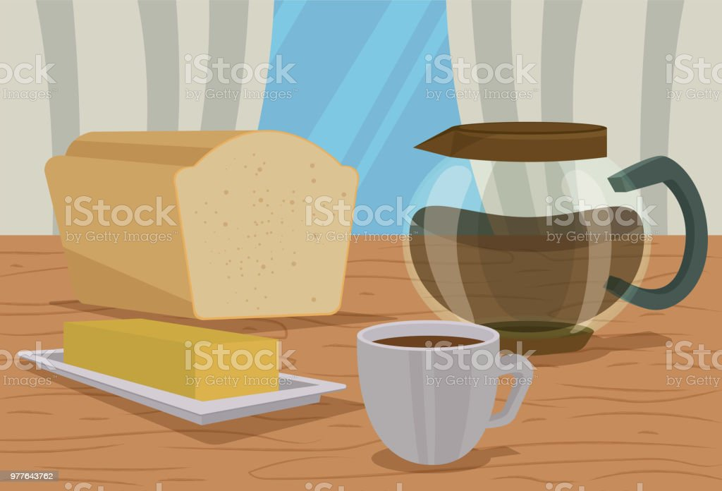 Happy Good Morning vector art illustration