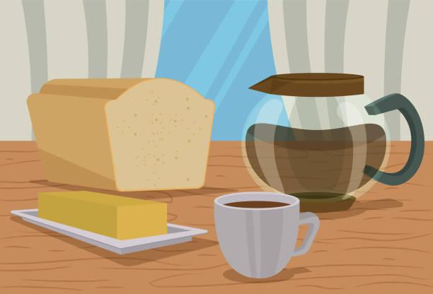 Happy Good Morning vector art illustration