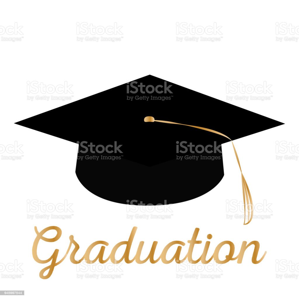 Happy Graduation Background Stock Vector Art & More Images ...