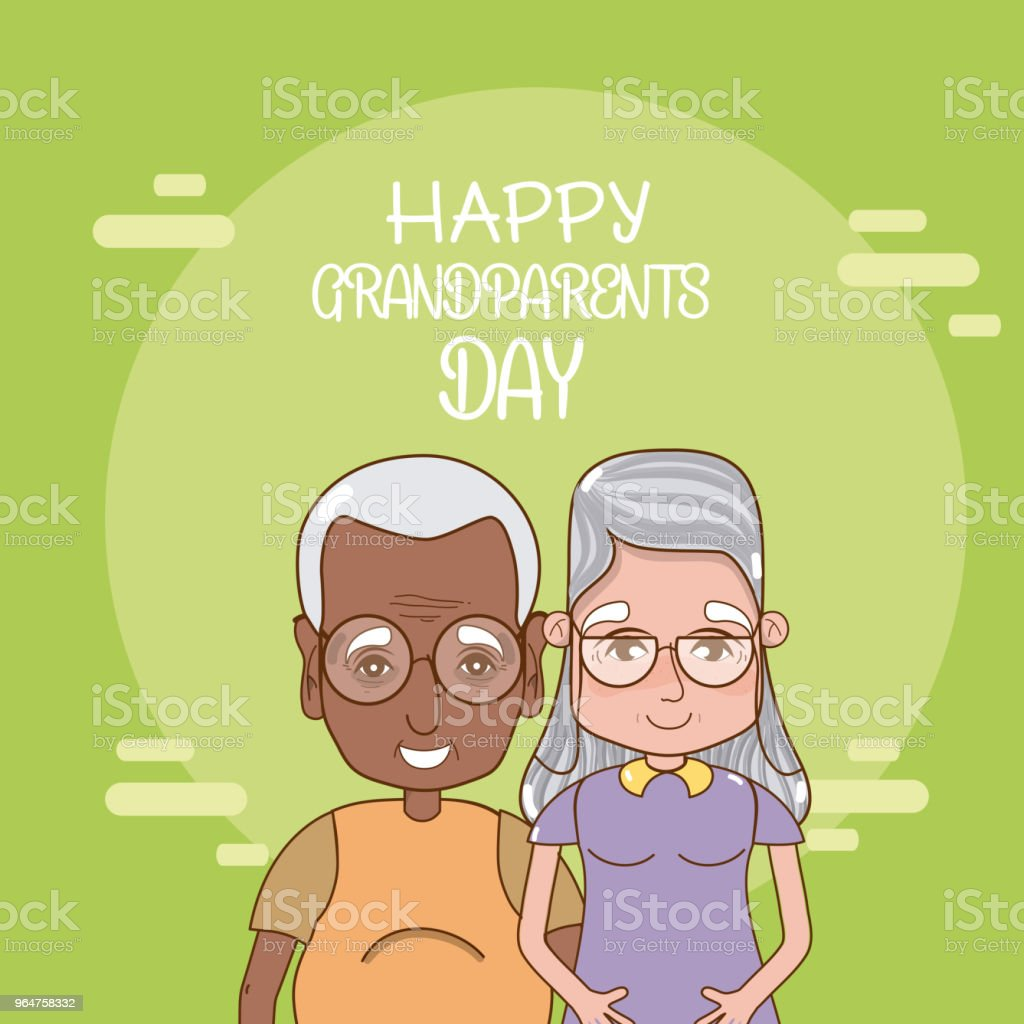 Happy grandparents day card royalty-free happy grandparents day card stock vector art & more images of adult
