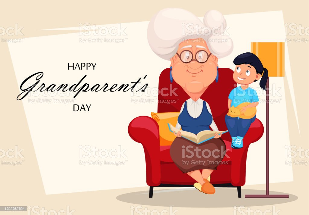 Happy grandparents day greeting card stock vector art more images happy grandparents day greeting card royalty free happy grandparents day greeting card stock vector art m4hsunfo