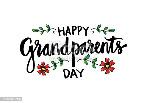 Happy Grandparents Day concept