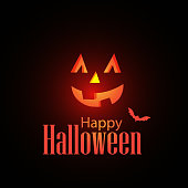 Vector of Happy Halloween background. EPS Ai 10 file format.