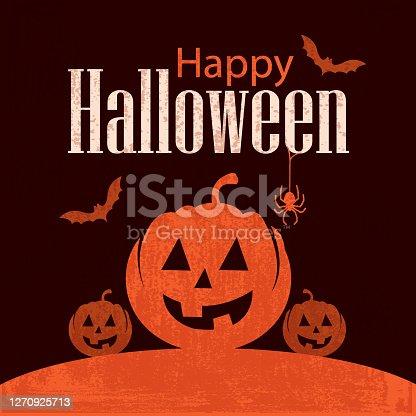 istock Happy Halloween background 1270925713