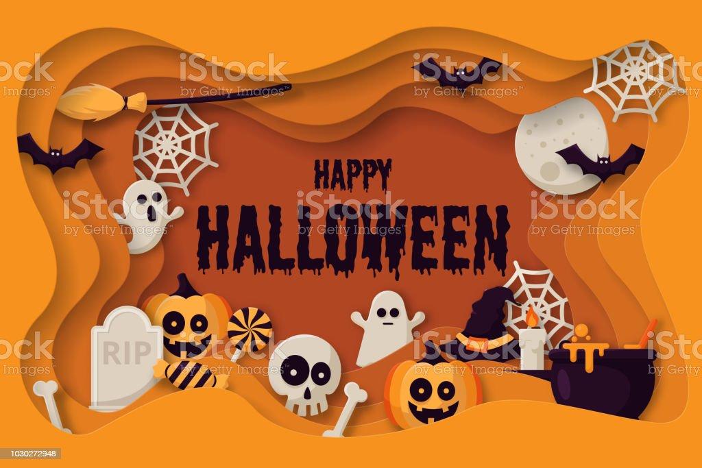 Spooky Orange Citrouille Sifflet Sac Fête Remplisseur Halloween individuellement Scellées