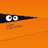 istock happy halloween card eyes vector illustration background 1041201174