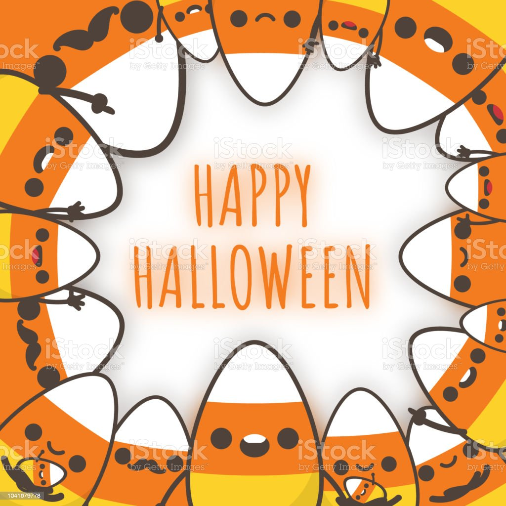 Cute Halloween Decorations Pinterest: Happy Halloween Cute Halloween Candy Corn Family Halloween