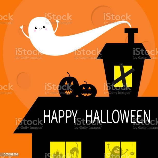 Happy halloween flying bat haunted house roof attic loft light on vector id1055459286?b=1&k=6&m=1055459286&s=612x612&h=y4o7y8i13crmim8ewtd3fh 6p2irkl9lpgs93c7weya=